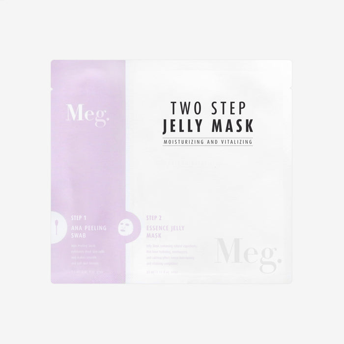 Two Step Jelly Mask  - Moisturizing and Vitalizing - Megcosmetics by dpark corporation