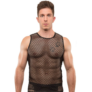FISHNET TANK TOP