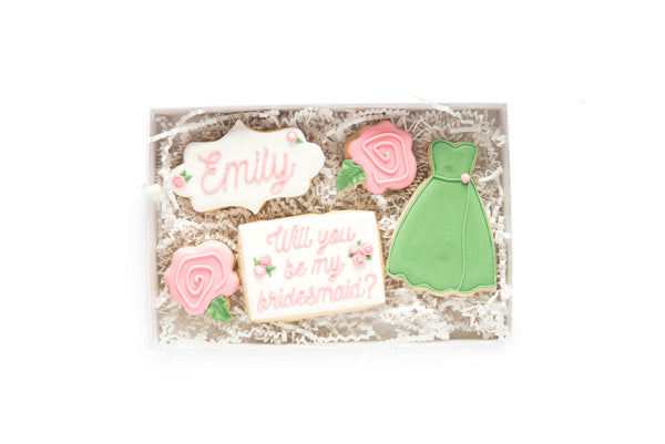 Bridesmaid Dress: Gift Box