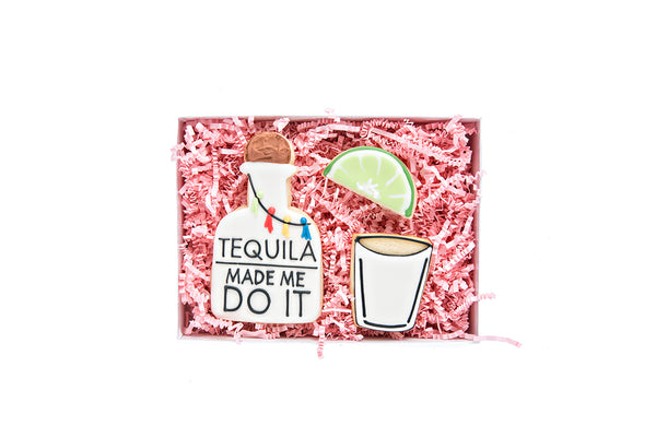 Tequila Made Me Do It: Gift Box