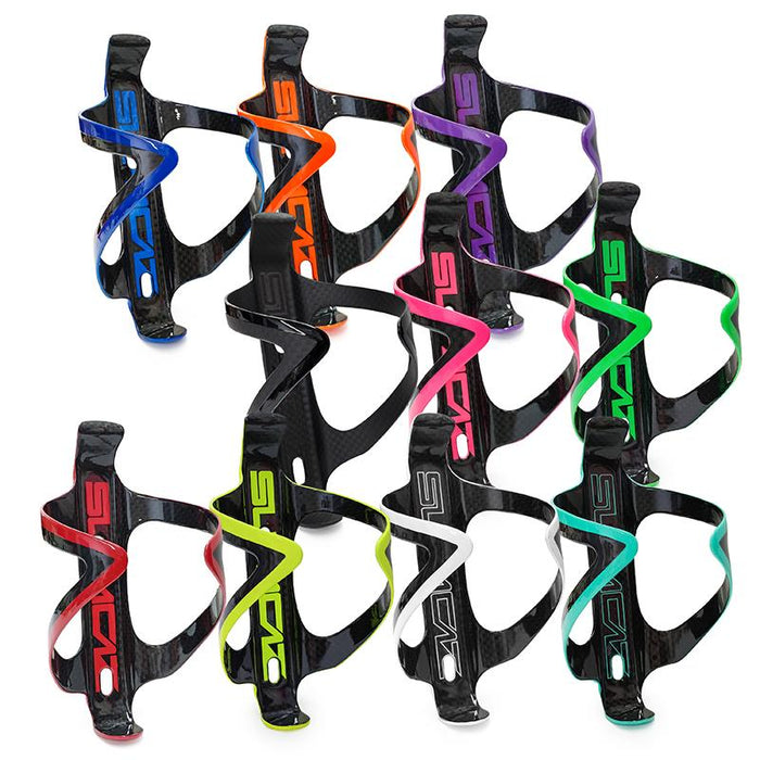 Supacaz Carbon Fly Water Bottle Cage - Various Colors