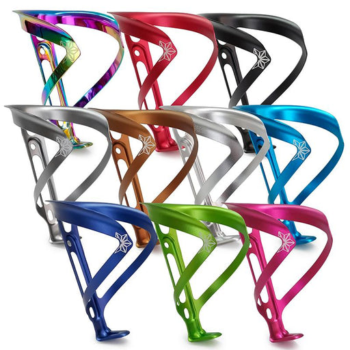 Supacaz Fly Cage Ano Aluminum Water Bottle Cage - Various Colors