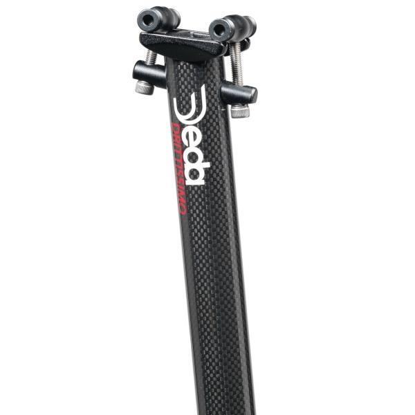 Deda Elementi Drittissimo Carbon Road Bike Seatpost, 31.6mm