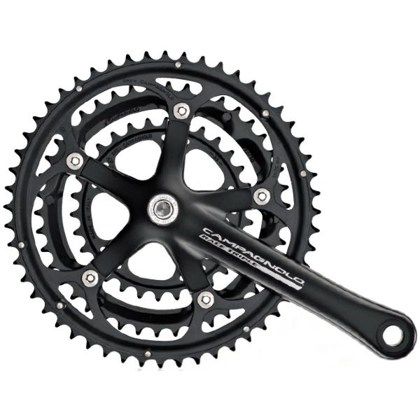 Campagnolo Race 10 Speed Triple Crankset, 175mm