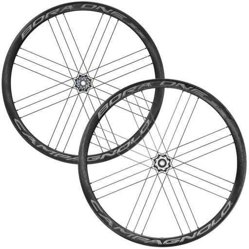 Campagnolo Bora One 35 DB Clincher Road Centerlock Wheel Set, DARK labels, TA 12mm