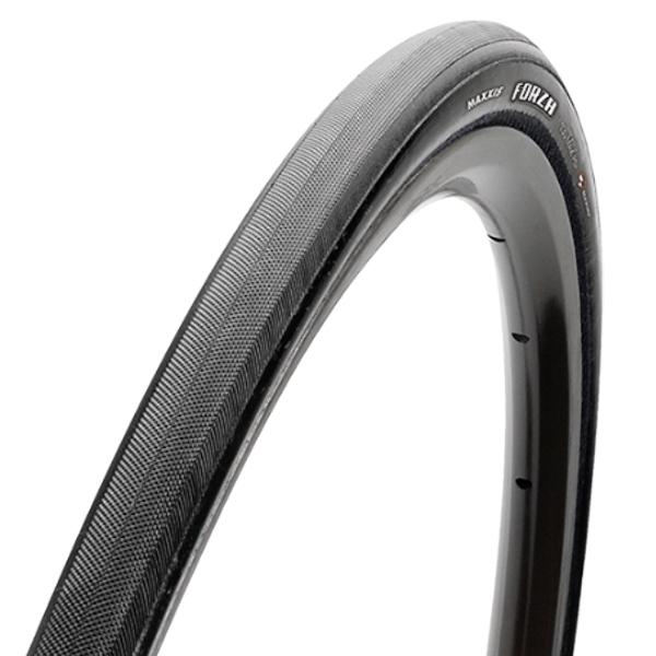 Maxxis Forza TR Road Bike tire, Clincher, 700 x 25c, Black