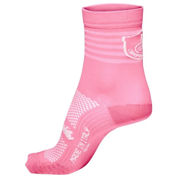Campagnolo Litech Cycling Socks, Pink - Various Sizes