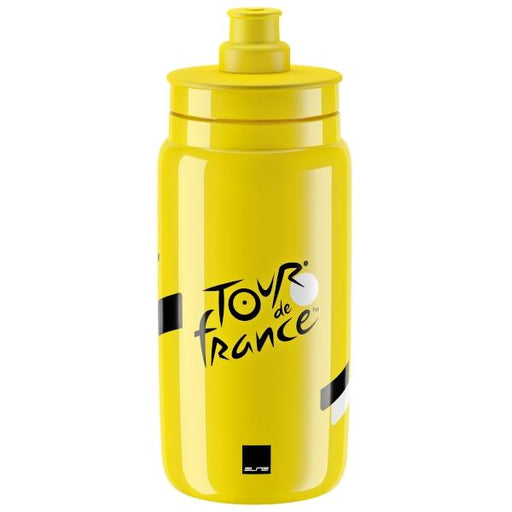 Elite Fly Tour de France Water Bottle, Iconic Yellow - 550ml