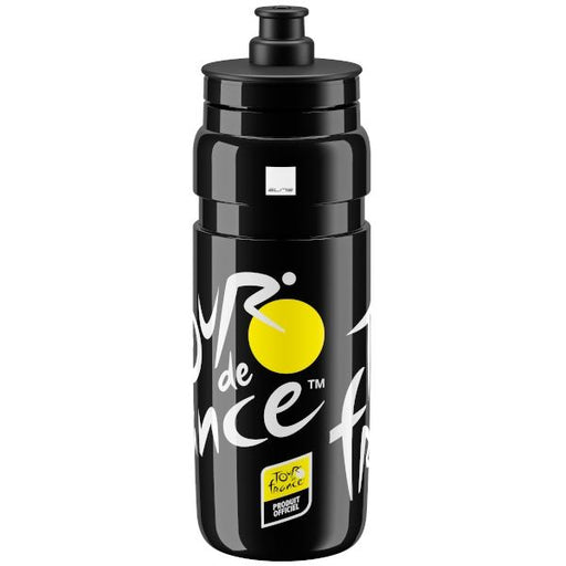 Elite Fly Tour de France Water Bottle, Black - 750ml