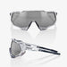 Ride 100% Speedtrap Soft Tact Stone Grey - Smoke Lens