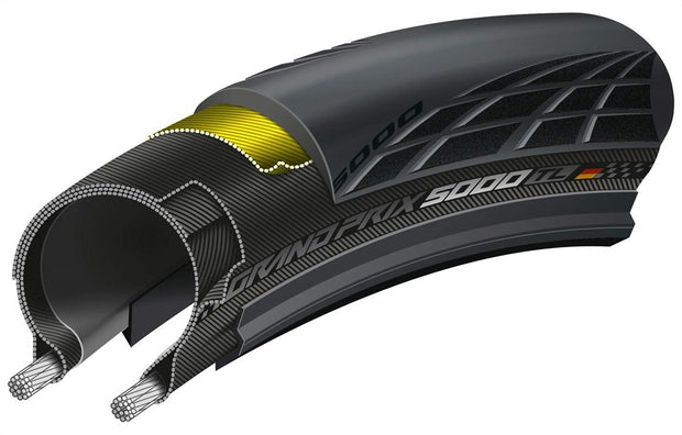 Continental Grand Prix 5000 TubeLess Tires