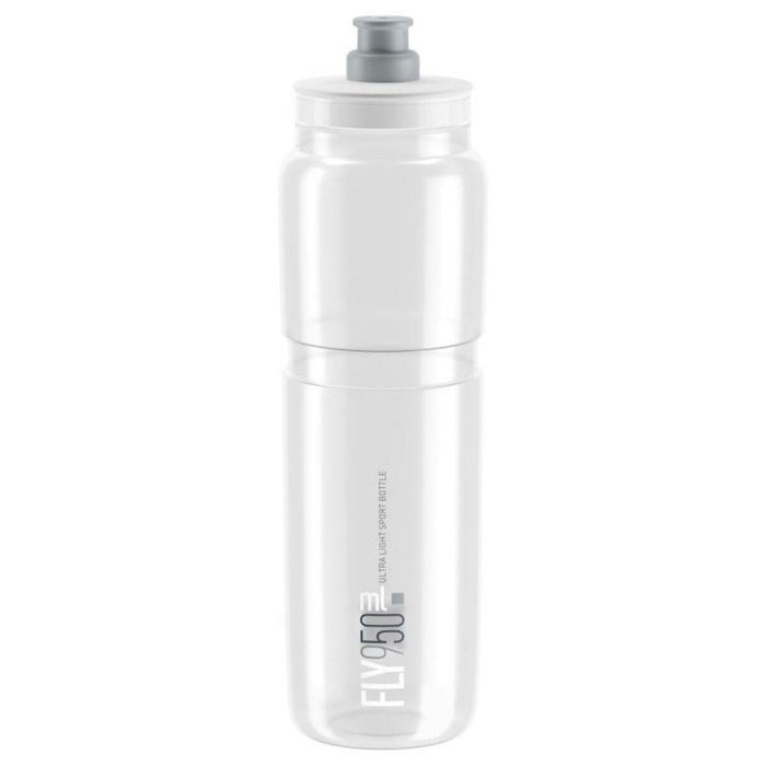 Elite Fly Water Bottles 950 ml - Clear / White