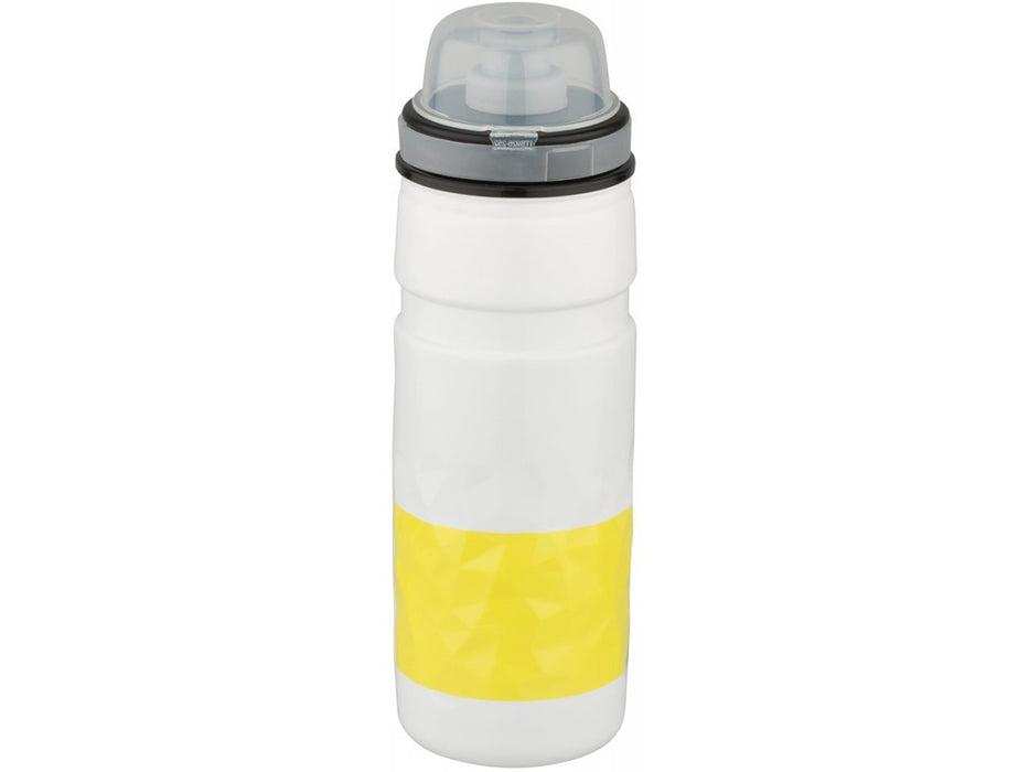 Elite Ice Fly Tour de France Water Bottles, 500ml - White