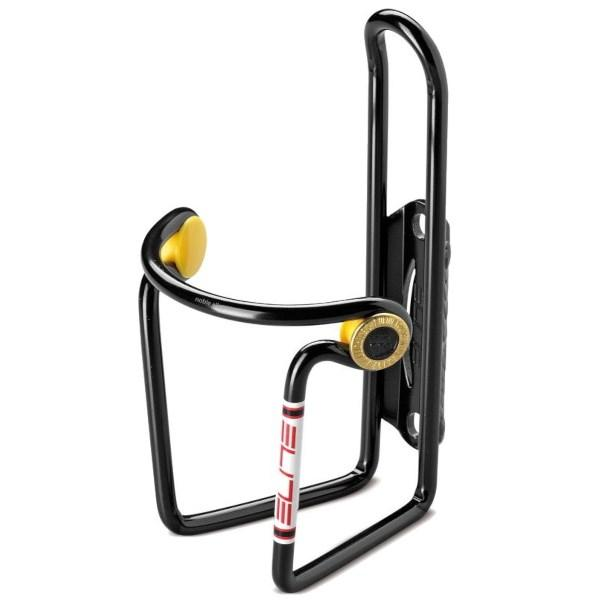 Elite Ciussi Aluminum Water Bottle Cage - Black