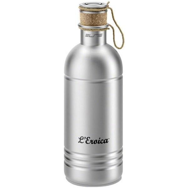 Elite L'Eroica Bike Cycling Vintage Aluminium Water Bottle