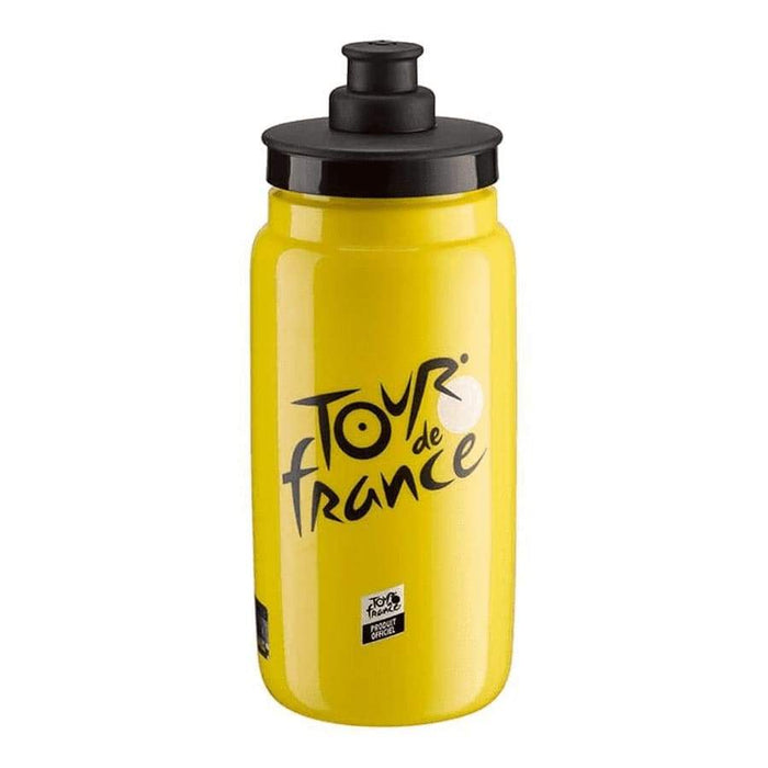 Elite Fly Tour de France Water Bottle, Yellow - 550ml