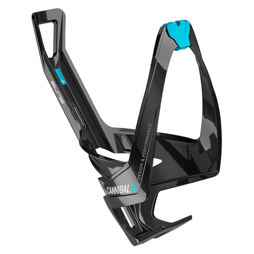 Elite Cannibal XC Bottle Cage, 74mm, Black / Blue