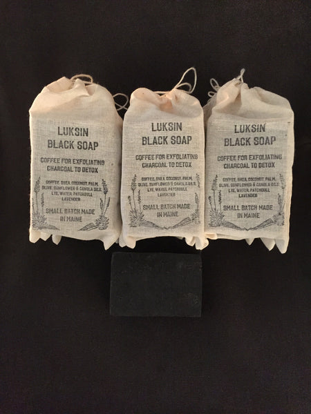 luksin black soap