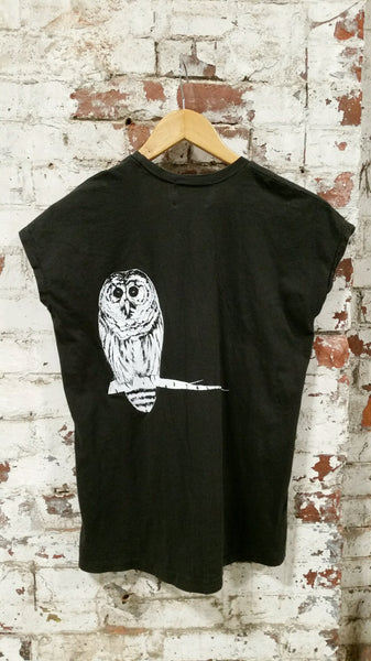 organic cotton owl t shirt