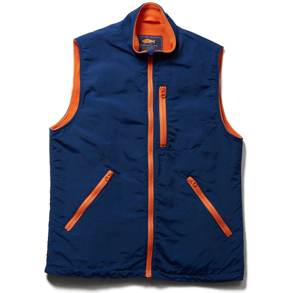 Everyday Vest - Blue & Orange
