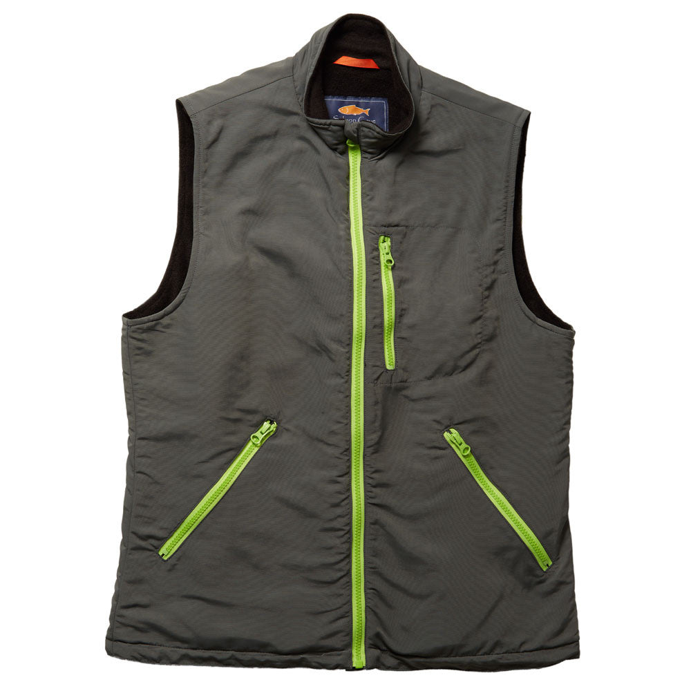 Everyday Vest - Grey & Green