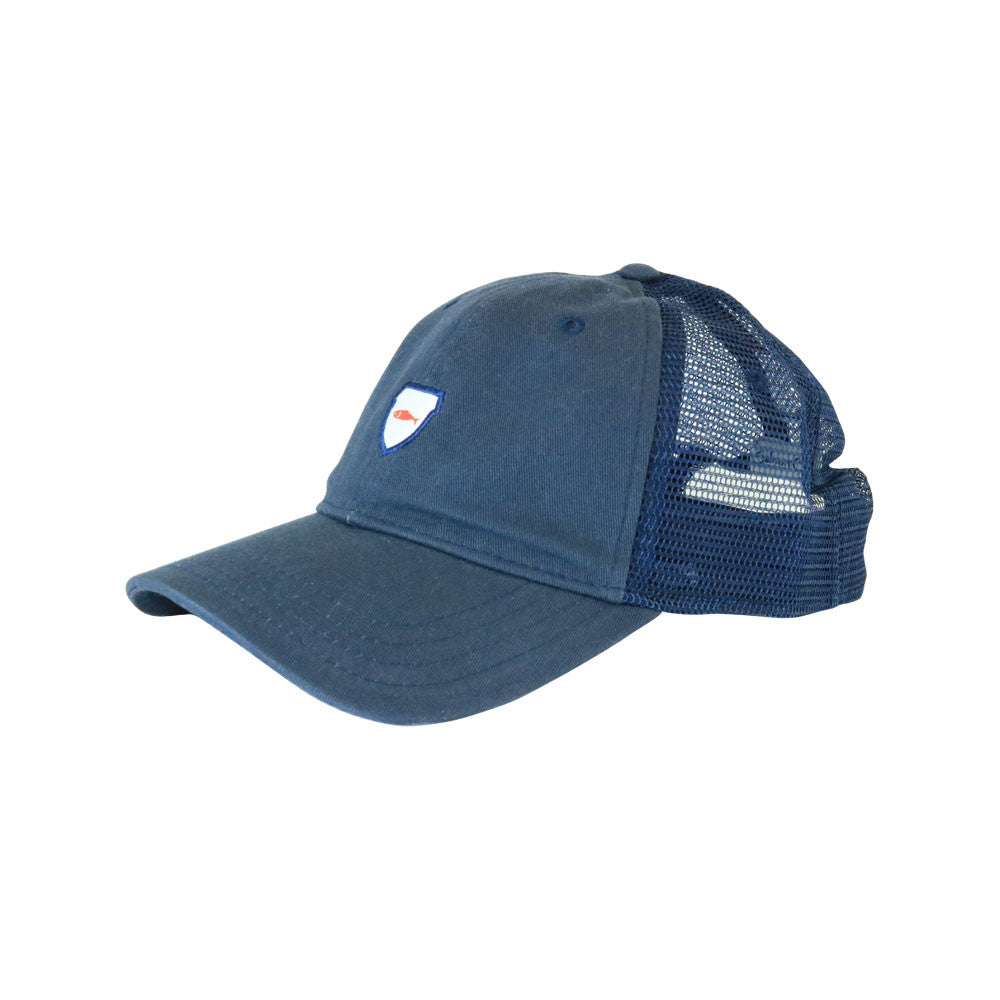 Salmon Cap Navy Trucker