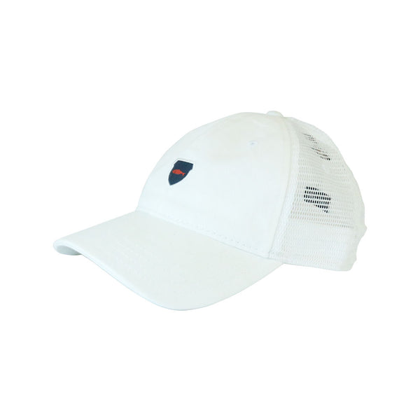 Salmon Cap White Trucker