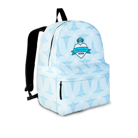 MS Nurse Blue Backpack