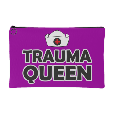 TRAUMA QUEEN Accessory Pouch - [Large and Small]