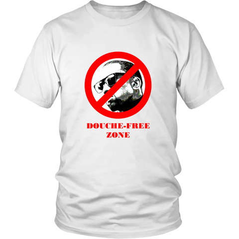 DOUCHE-FREE ZONE - Limited Edition Tee [unisex]