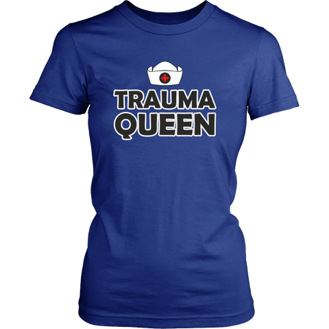 Trauma Queen T-shirt [various styles & colors]