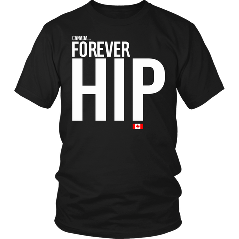 Forever Hip - Limited edition t-shirt  [BASIC BLACK]