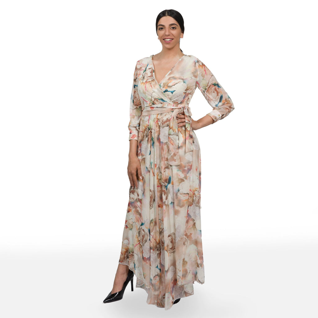 Bitter-Sweet Maxi Wrap Dress