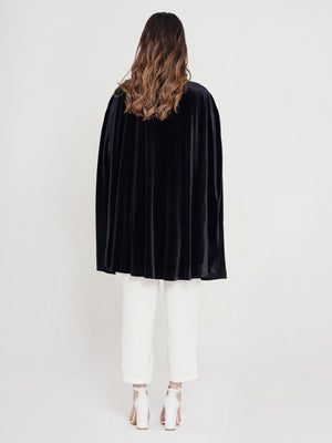 Just My Type Embroidered Cape