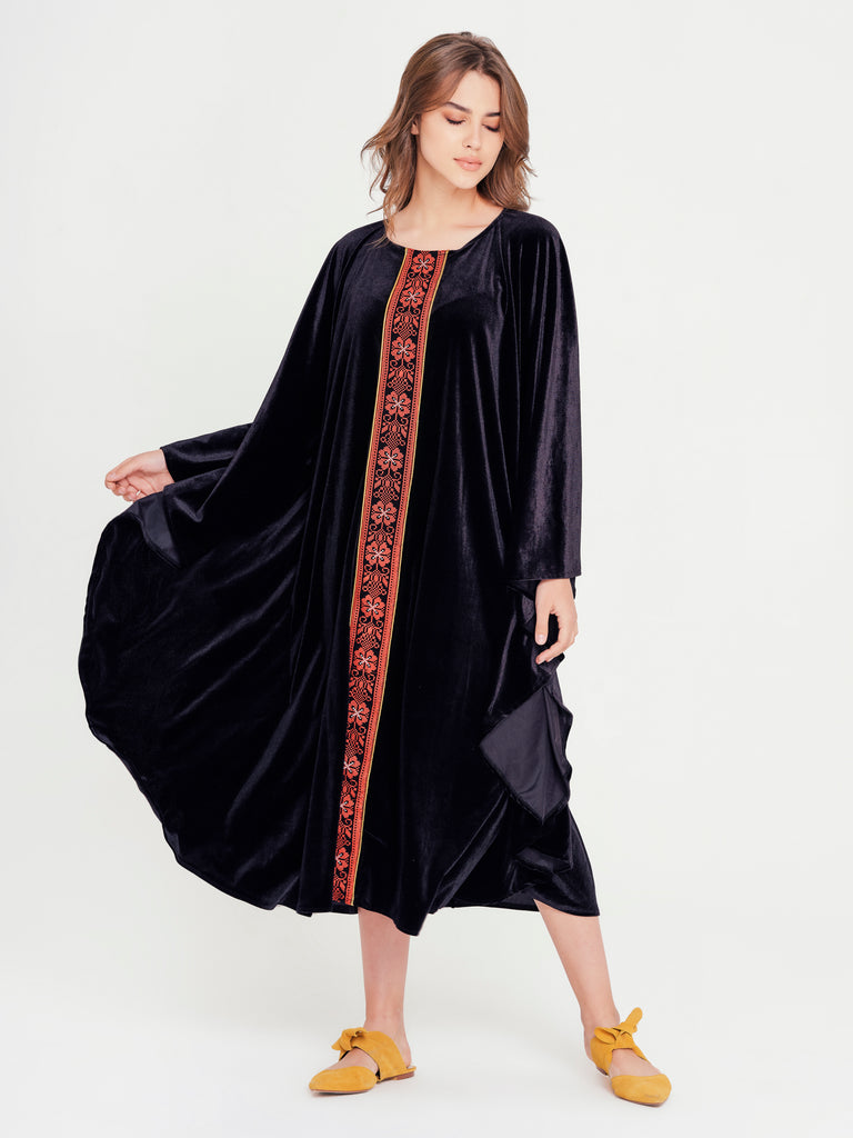 Velvet for Days Midi Dress - Rou Boutique