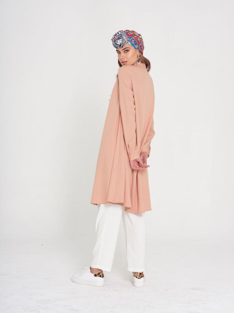 Pretty in Pink Long Shirt - Rou Boutique