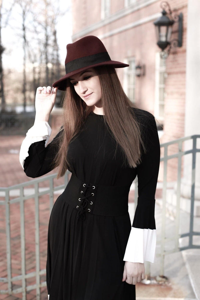 Katie Bell Sleeve Dress