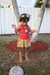 Moana, costume, dress up