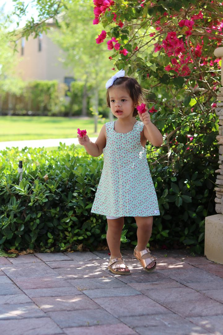dress, shift, floral, spring, summer, handmade, small shop, toddler, girl, trendy, style, fashion, ootd