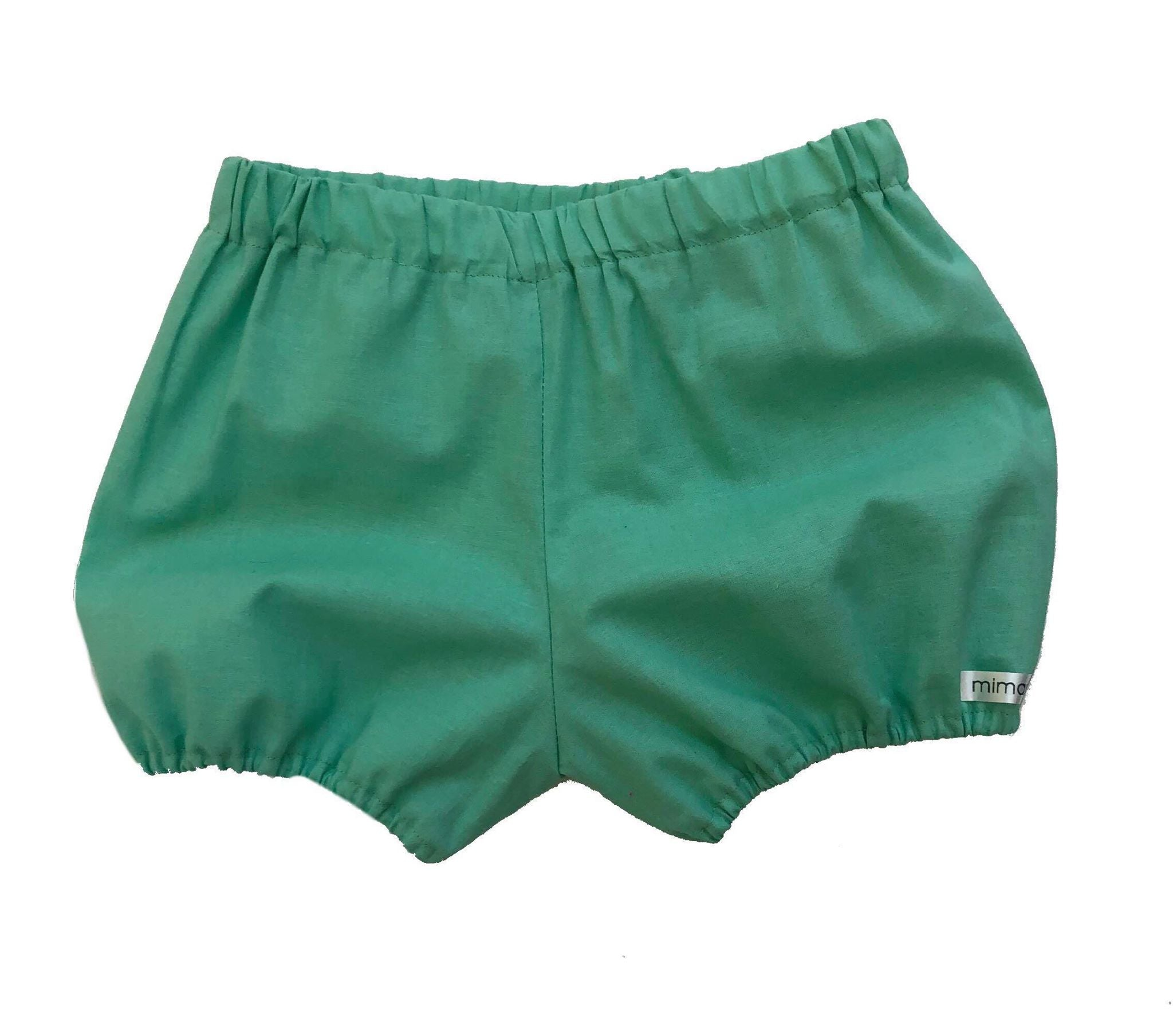 Solid Color Bow Bloomers