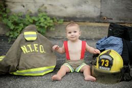fireman, firefighter, dress up, costume, suspender shorts, boys, toddler, handmade
