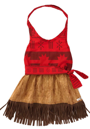 Moana Inspired Dress