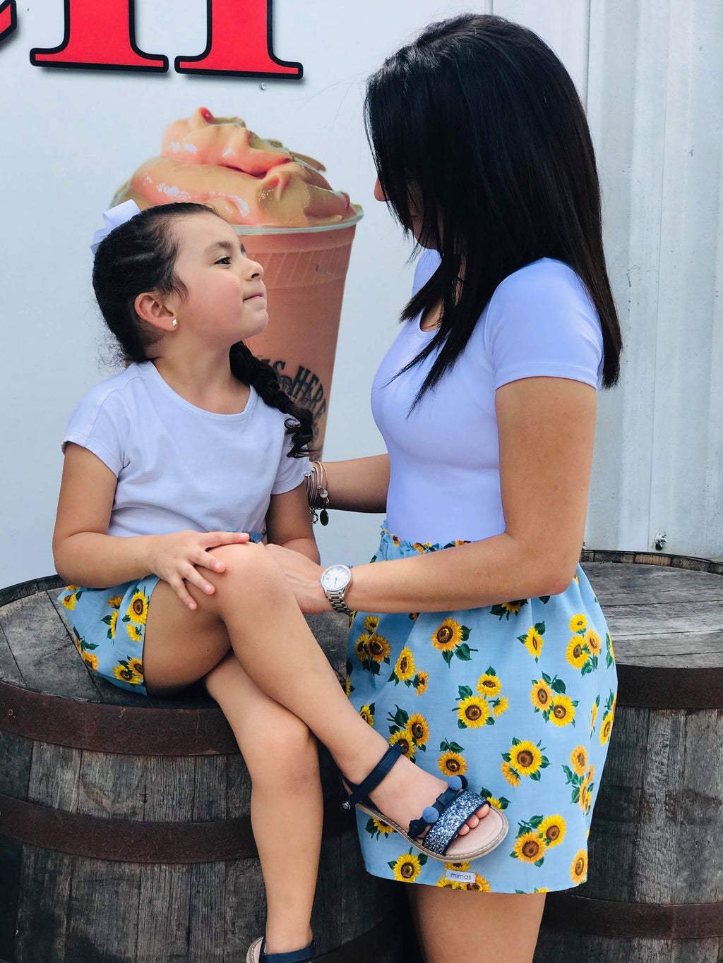 mommy and me, skirts, matching, trendy, fashion, girls, toddler, mama, handmade, small shop