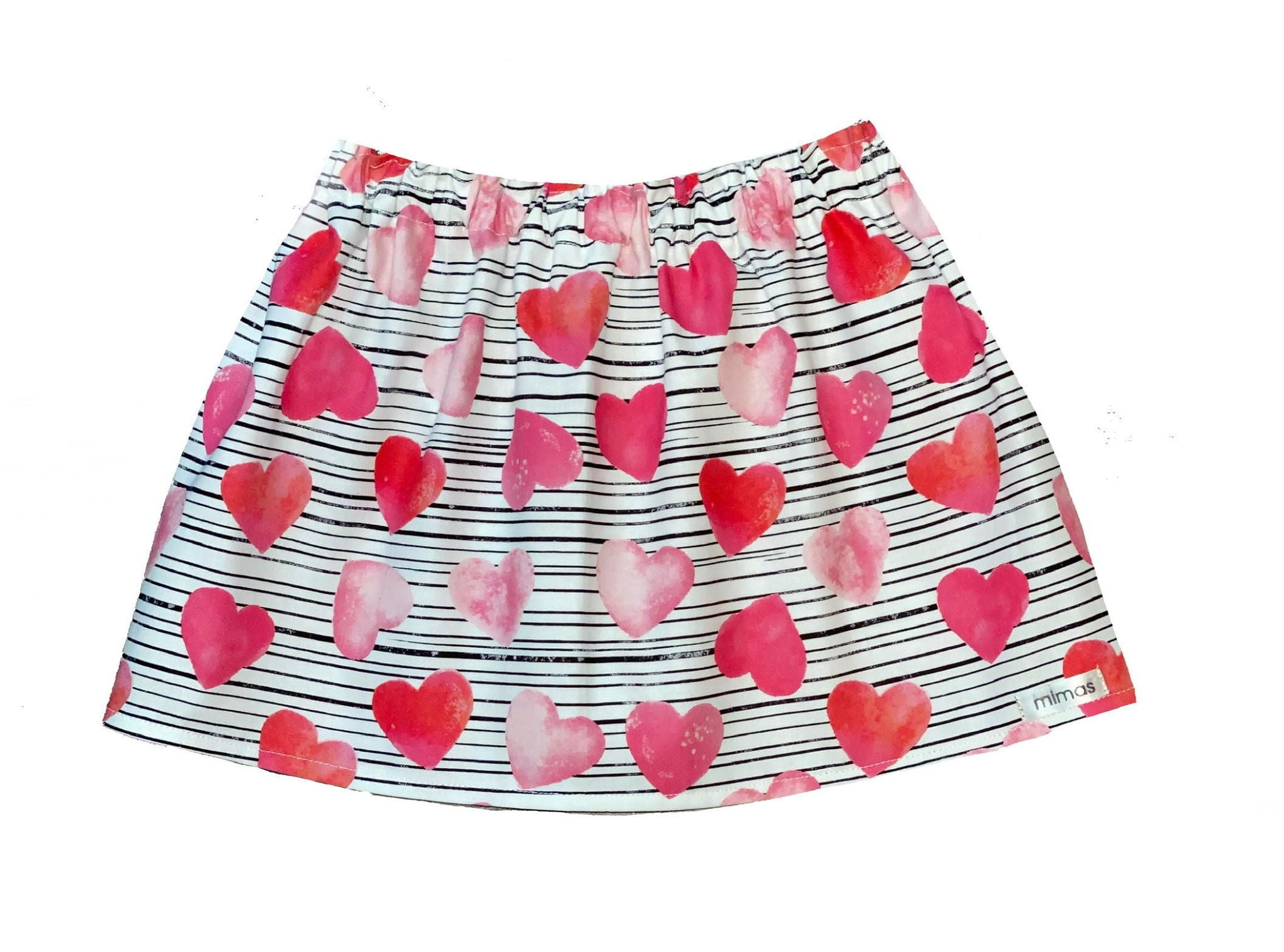 Valentine Hearts Skirt