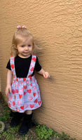 valentines day, heart, pink, red, skirt, suspender skirt, photography, girls, toddler, fashion, handmade, trendy, small shop
