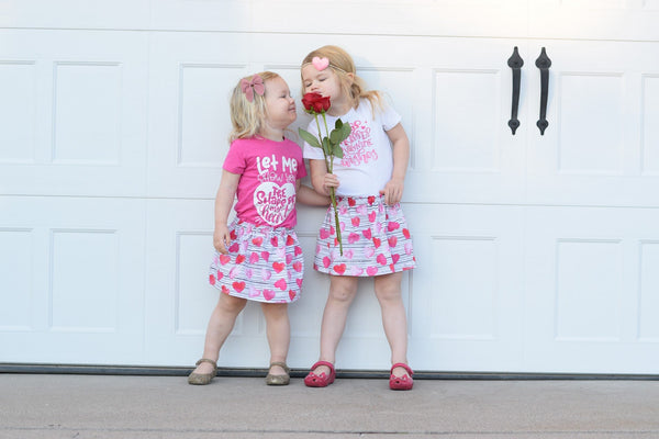 skirt, hearts, valentine, valentines day, love, handmade, small shop, siblings, photography, family, cute, fashion, trending