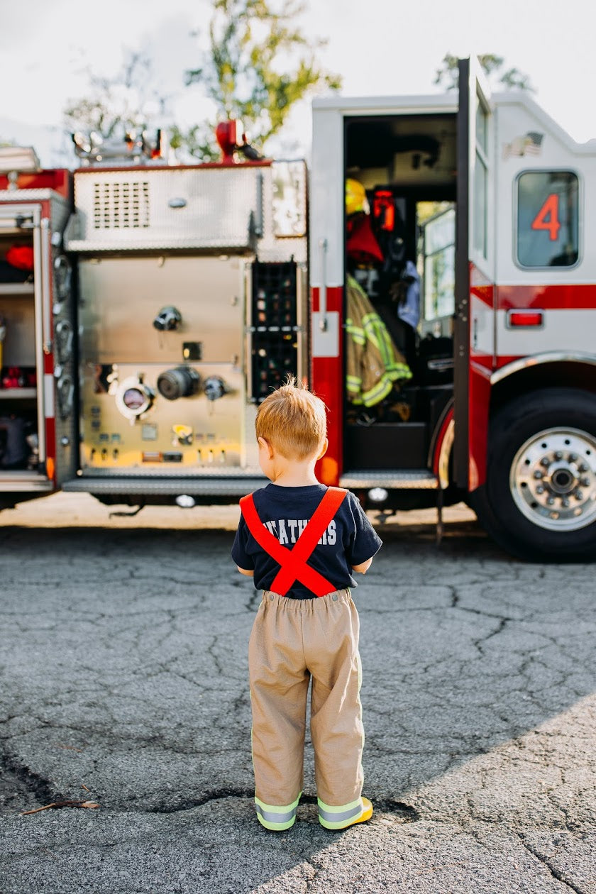 Firefighter Suspender Pants (Boys)