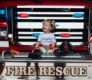 Firefighter Personalized Tee (Kids)
