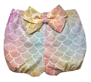 Mermaid Bow Bloomers