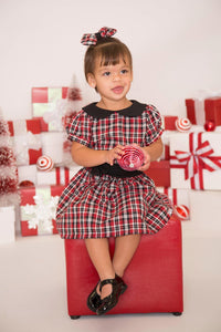 Plaid Christmas Dress